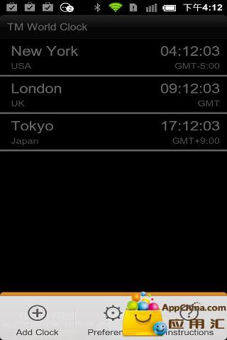 商标世界时钟及部件 生活 App-癮科技App