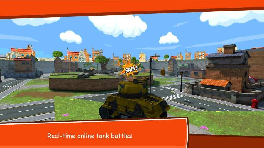 卡通战争:在线坦克战截图1