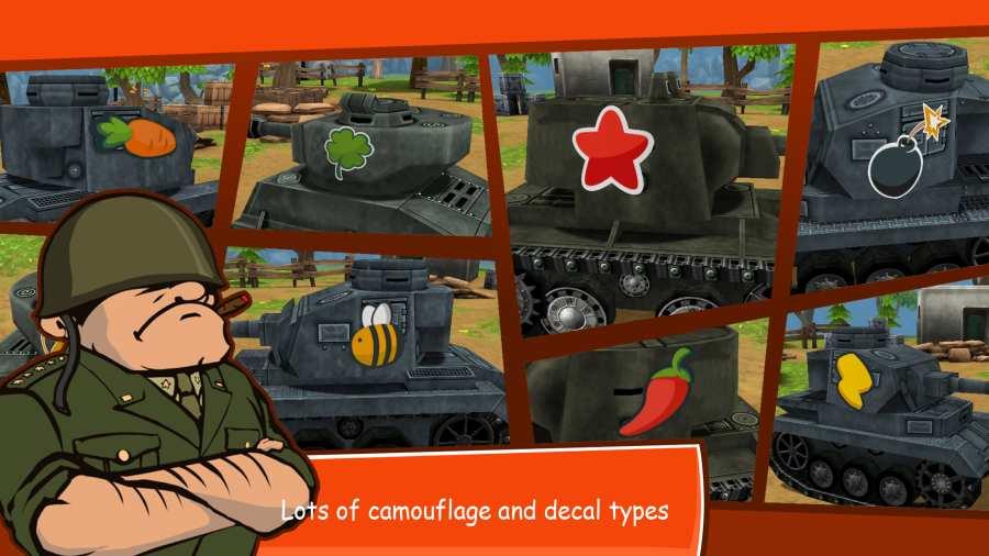 卡通战争:在线坦克战截图2