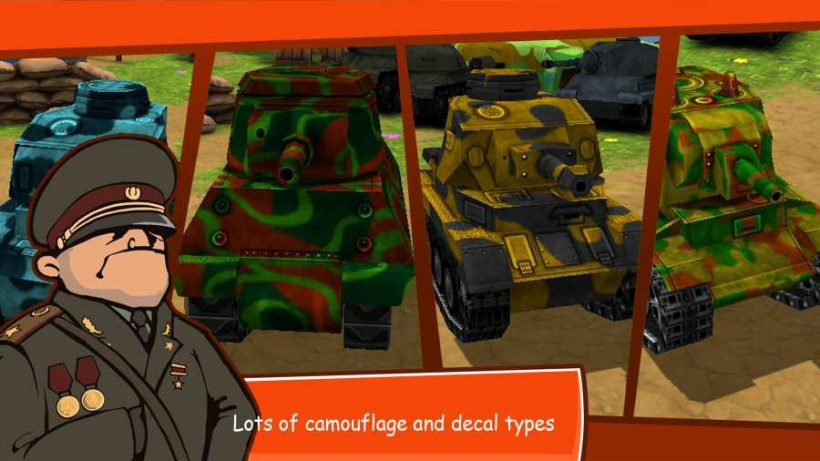 卡通战争:在线坦克战截图3