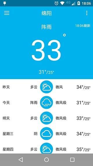 简约天气截图2