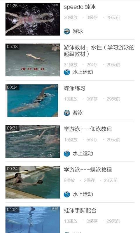 游泳教程视频截图2