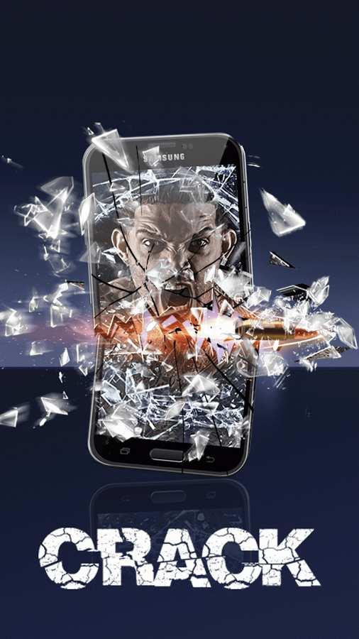 碎玻璃屏幕笑话