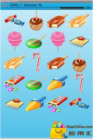 糖果记忆游戏 益智 App-愛順發玩APP