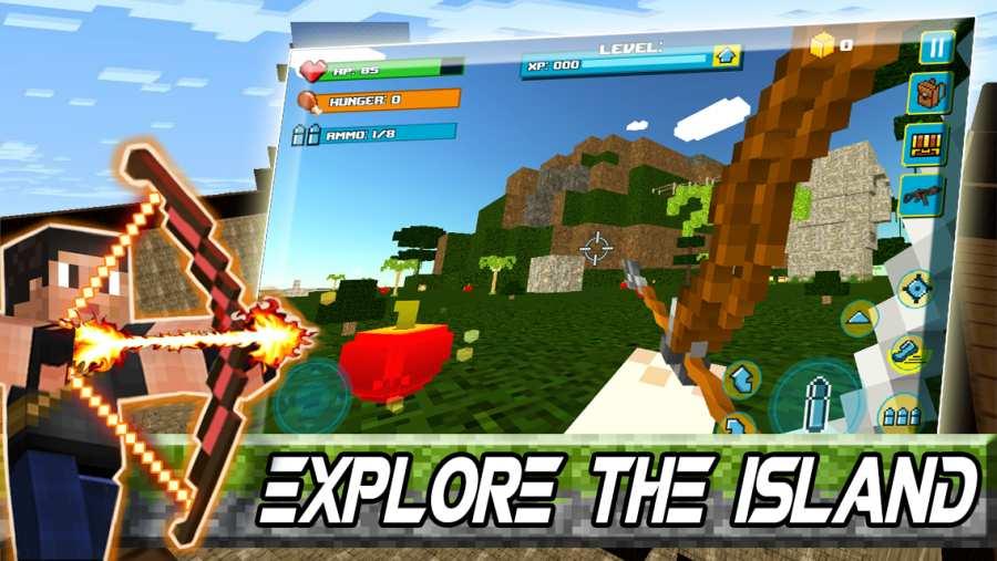 生存游戏:布洛克岛截图0