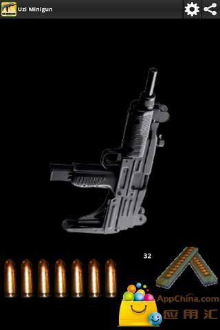 【免費動作App】枪:乌兹机枪-APP點子