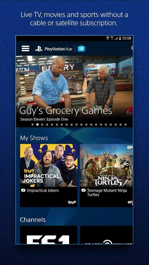PS Vue Mobile