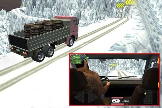 3D Truck Driving Simulator截图0