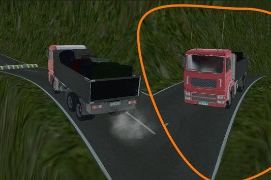 3D Truck Driving Simulator截图1