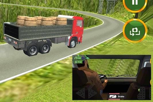 3D Truck Driving Simulator截图3