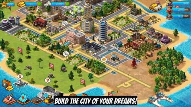 Paradise City Island Sim截图0