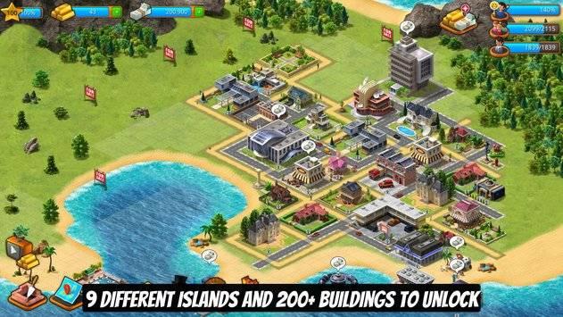 Paradise City Island Sim截图2