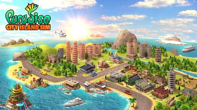 Paradise City Island Sim截图4