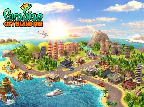 Paradise City Island Sim截图9