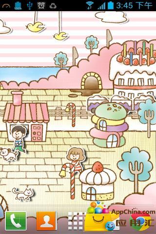 玩個人化App|糖果商店动态壁纸免費|APP試玩