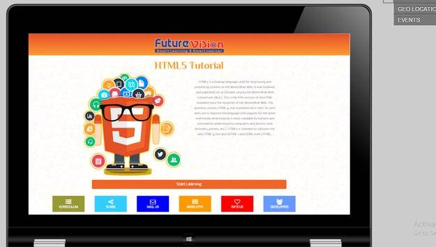 Learn Html5 with Online Editor截图8