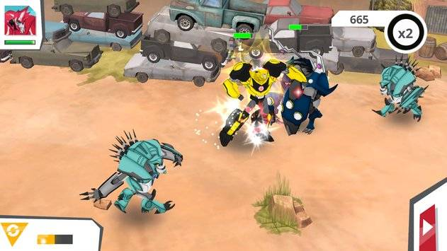 Transformers: RobotsInDisguise截图3