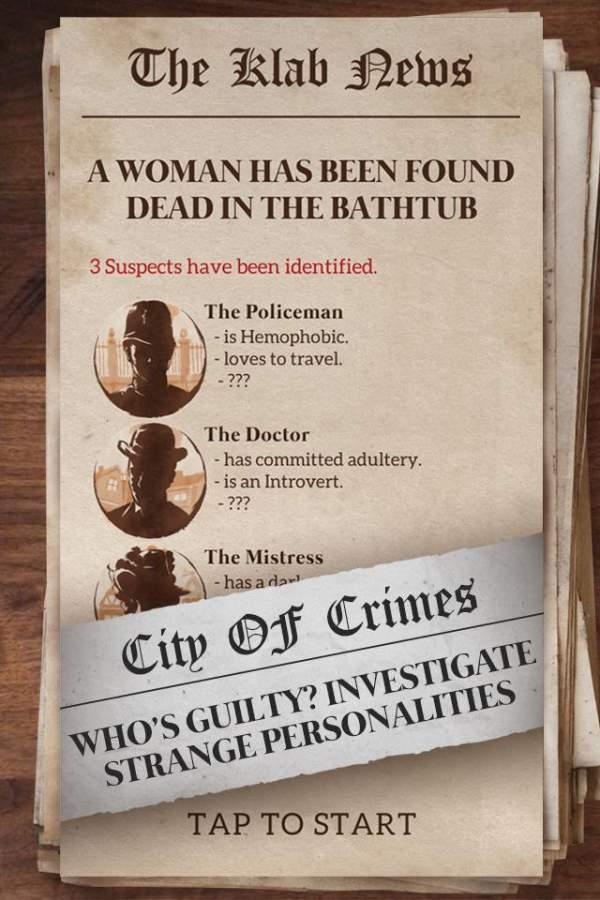 秘密档案:城市犯罪截图2