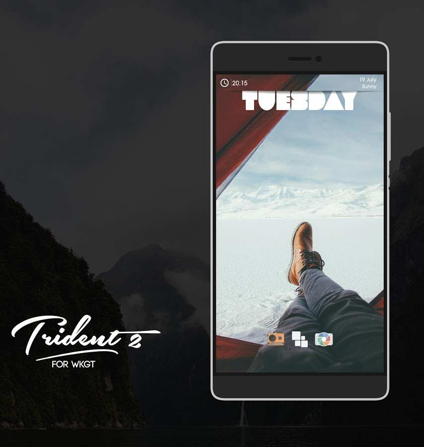 Trident for KWGT截图2