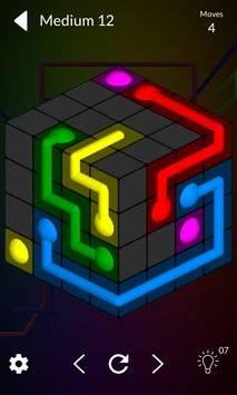 Cube Connect - 3D puzzle game截图0