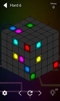 Cube Connect - 3D puzzle game截图4