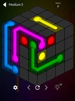 Cube Connect - 3D puzzle game截图7