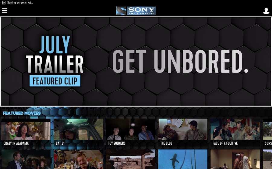索尼电影频道:SonyMovieChannel截图2