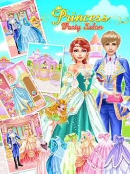 Princess Party Salon-Girl Game截图0