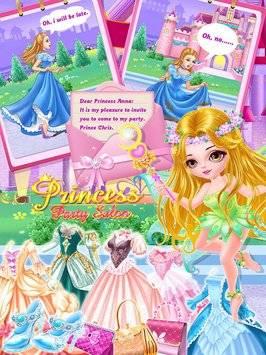Princess Party Salon-Girl Game截图1