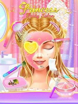 Princess Party Salon-Girl Game截图9