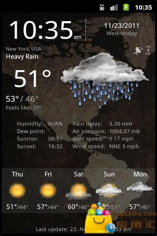 玩免費生活APP|下載专业天气服务 app不用錢|硬是要APP