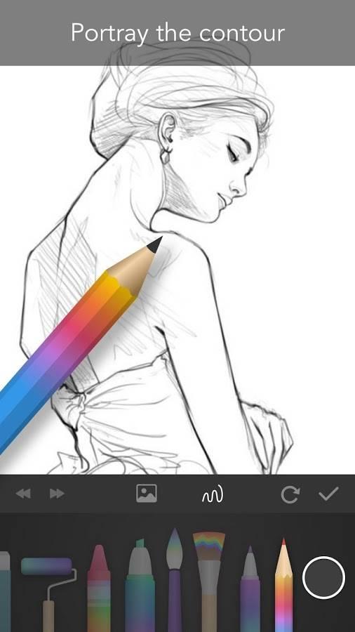 绘画涂鸦PaperOne截图1