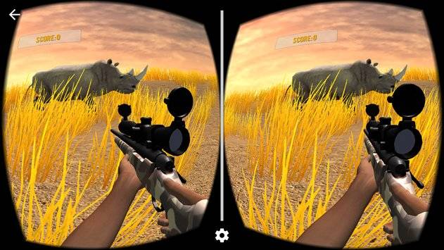 VR Hunting Safari 4x4截图0