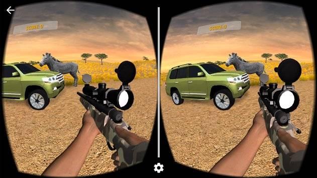 VR Hunting Safari 4x4截图2
