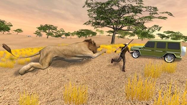 VR Hunting Safari 4x4截图4
