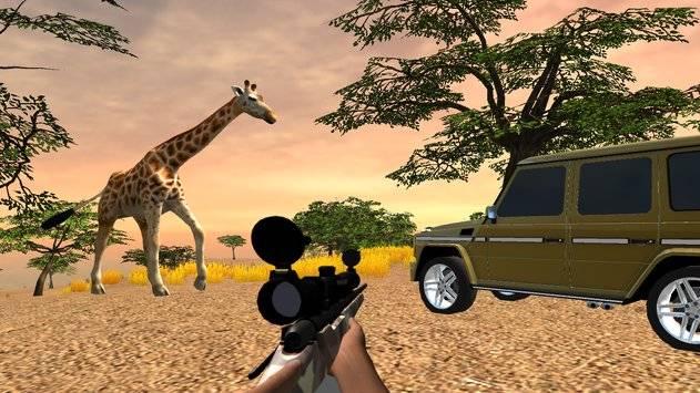 VR Hunting Safari 4x4截图8