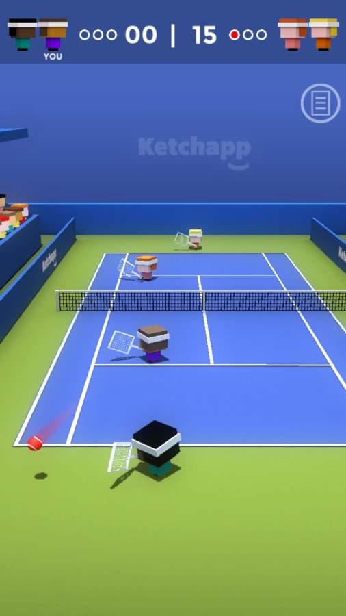Ketchapp网球截图1
