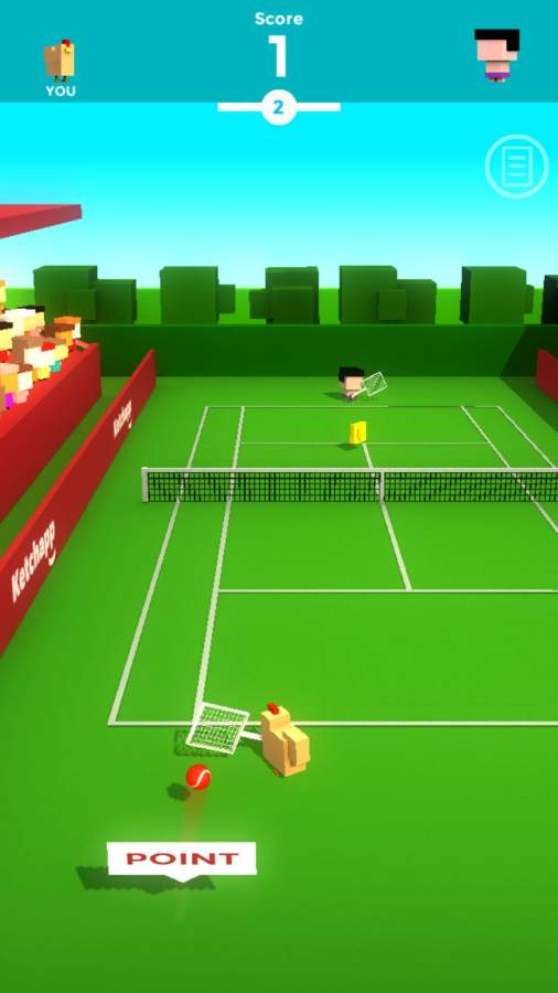 Ketchapp网球截图3