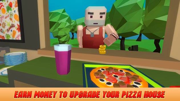 Pixel Pizzeria Cooking Chef截图2