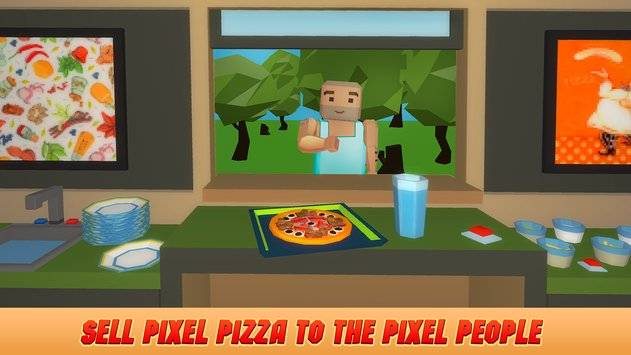 Pixel Pizzeria Cooking Chef截图5