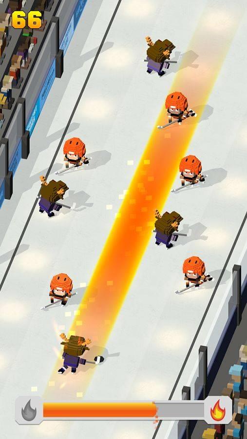 方块冰球:冰上跑酷截图2