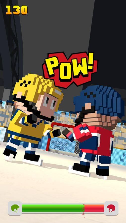 方块冰球:冰上跑酷截图3