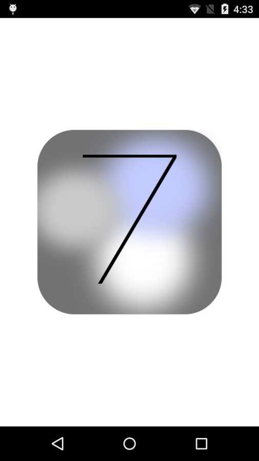 仿蘋果7桌面