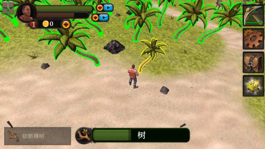 生存游戏:迷失无人岛 汉化版截图1