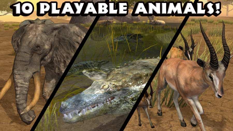热带草原动物模拟器截图1