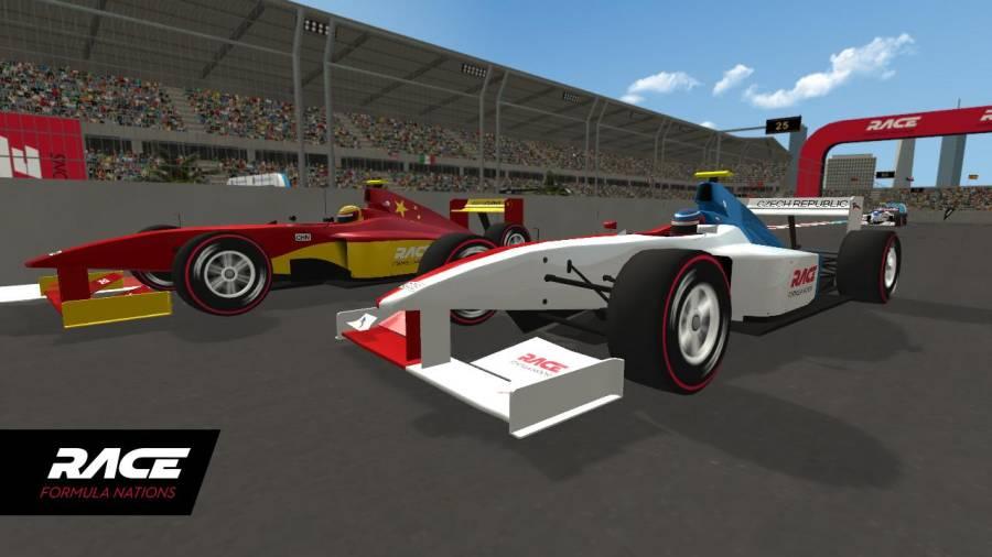 竞速:全国方程式赛车截图1