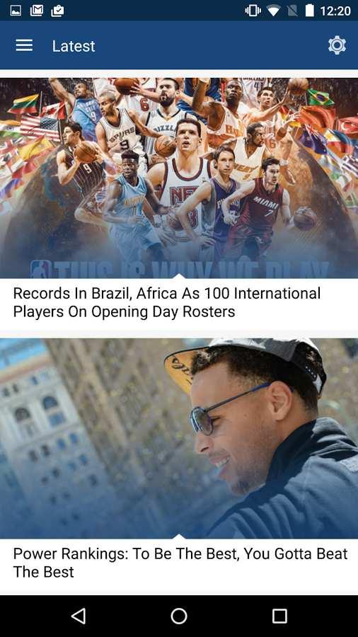 NBA电视直播截图1