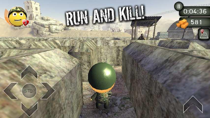 3D 迷宫: 黄金战争截图5