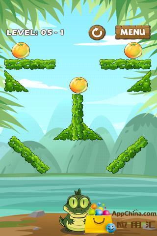 水果喂鳄鱼截图2