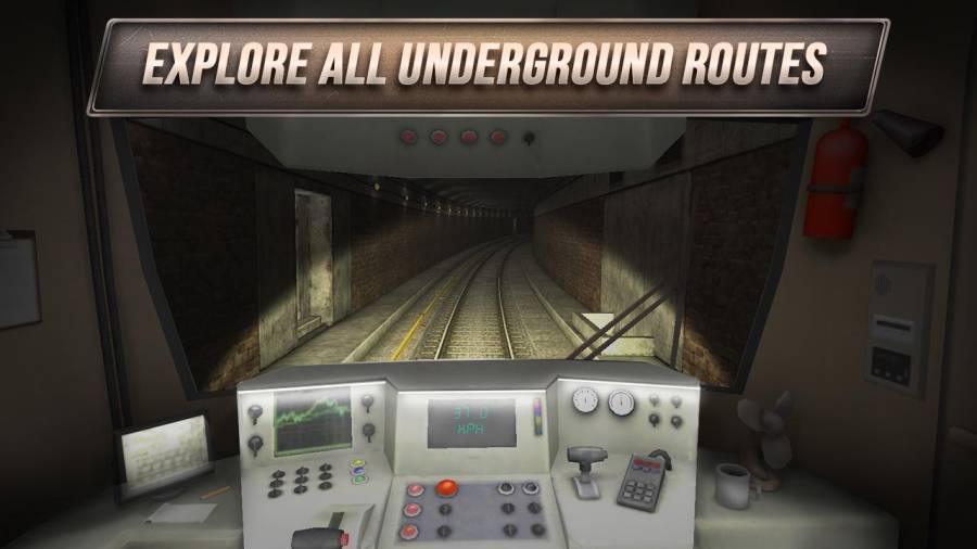 模拟地铁3D:地下司机截图1